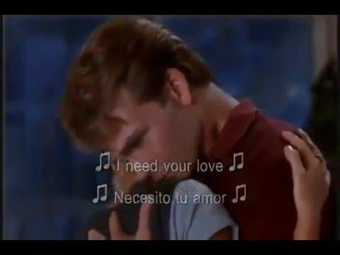 Ghost La sombra del amor - Unchained Melody - (subtitulado ingles y español)