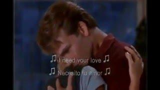 Ghost La Sombra Del Amor Unchained Melody Subtitulado Ingles Y Español Youtube