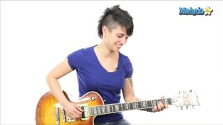"""How to Play """"The Edge of Glory"""" by Lady Gaga on Guitar"""