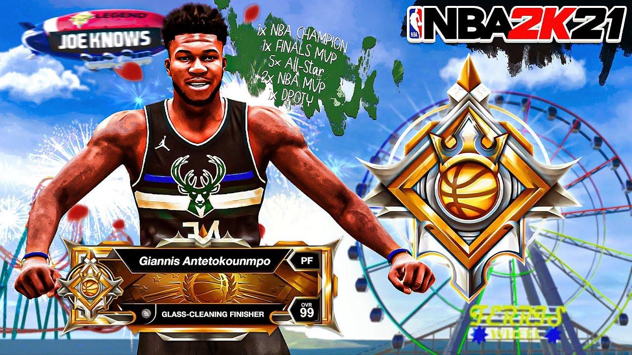 *NEW* FINALS MVP LEGEND GIANNIS ANTETOKOUNMPO BUILD in NBA 2K21