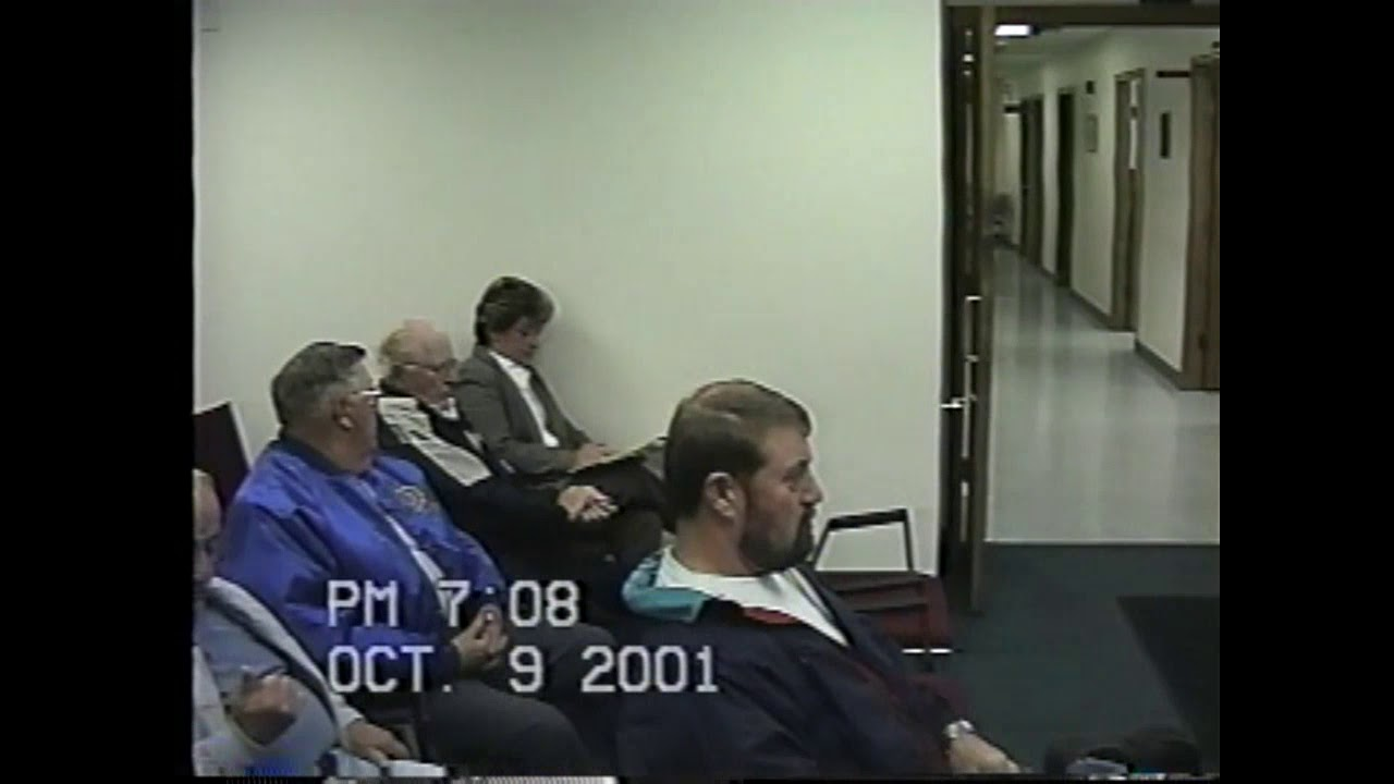 Champlain Town Board Meeting  10-9-01