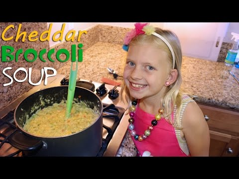 How to make broccoli soup without cheese pasta packet