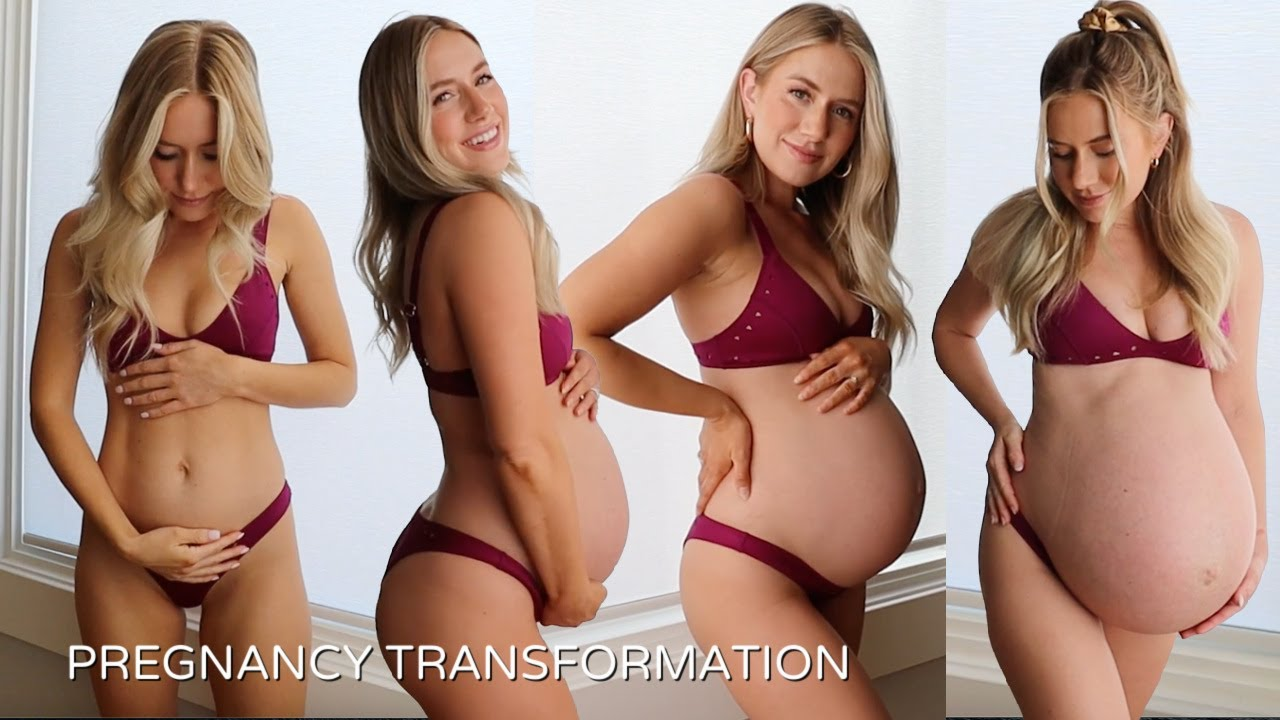 TWIN PREGNANCY TRANSFORMATION *WEEK BY WEEK