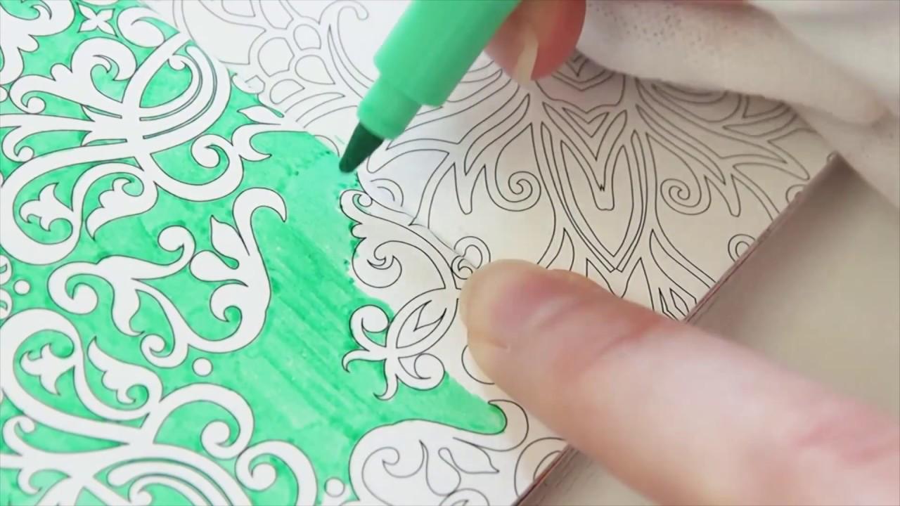 水性ペンplaycolor Kのムラになりにくい塗り方 Youtube