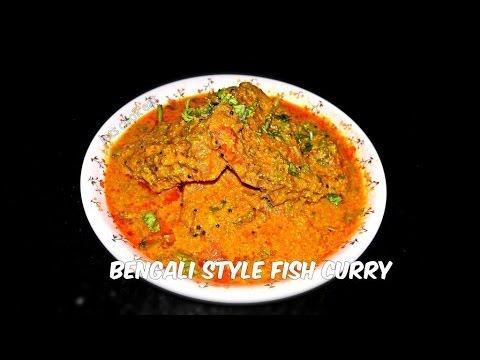 how to make fish curry bengali style