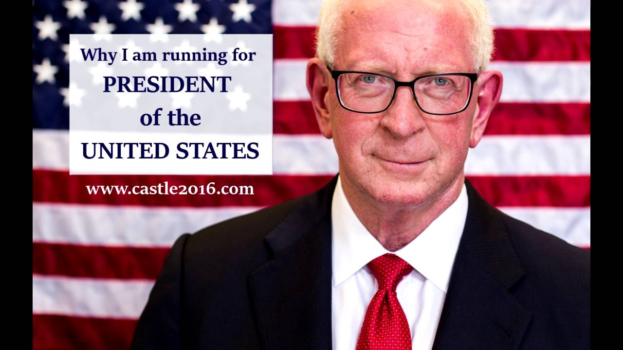 Constitution Party Presidential Nominee Darrell Castle Runs To Save America