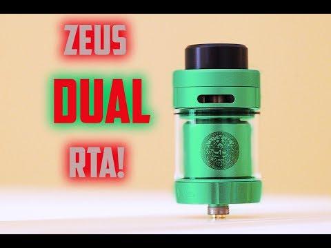 ZEUS Dual RTA By Geek Vape!