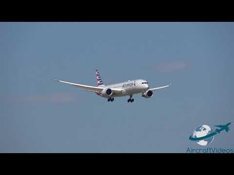 American Airlines 787-9 Dreamliner [N824AN] -- UHD 4K