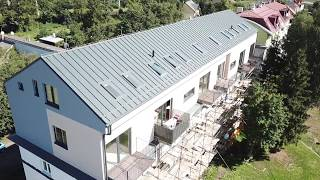 Building a net zero energy superstructure with SIP panels in Poprad - SLOVAKIA