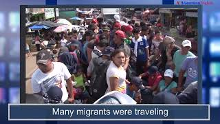 News Words: Caravan