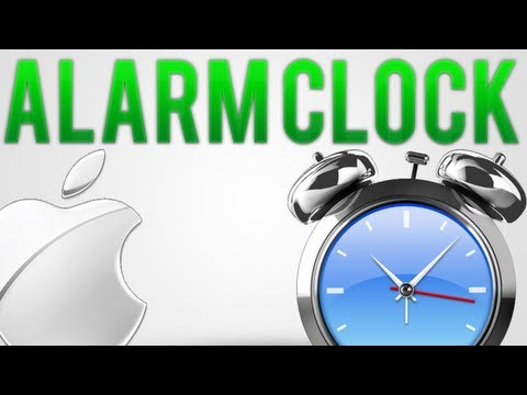 How To: Set An Alarm Clock, Timer Or Stopwatch On Mac (Free)