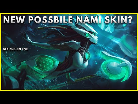 NEW POSSIBLE NAMI SKIN? COSMIC? LEAGUE OF LEGENDS