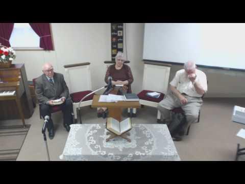 """""""Testimonials"""" 7/29/17 Joyce Mitchell & Leonard Spiva"""
