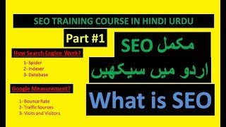 What is SEO? | SEO Tutorial for beginners  to expert in hindi Urdu | SEO 2019 Course - Part #1