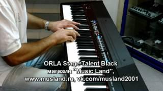 Обзор цифрового пианино ORLA Stage Talent часть 1