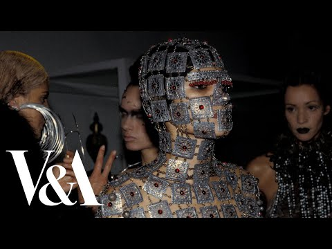 How was it made? Remaking of the McQueen Yashmak
