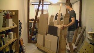 Bauanleitung Holzgestell