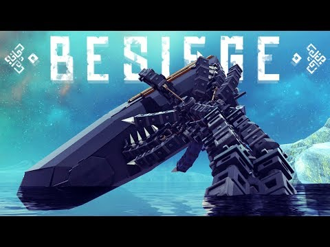 Deep-Sea Mechanical Monster Devours Ships Whole - Thomas Memes & More - Besiege Best Creations