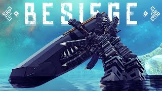 Deep-Sea Mechanical Monster Devours Ships Whole - Thomas Memes & More - Besiege Best Creations