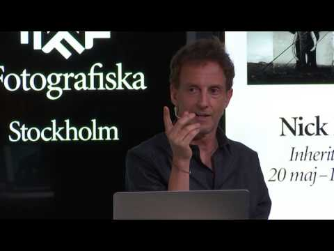 F Talk with Nick Brandt at Fotografiska