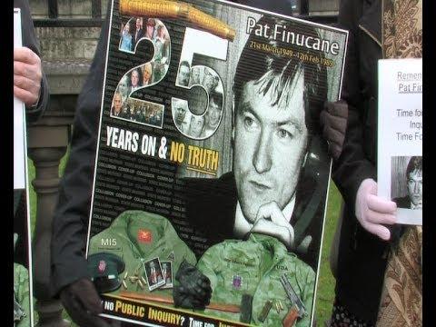 Pat Finucane '25 Years' on