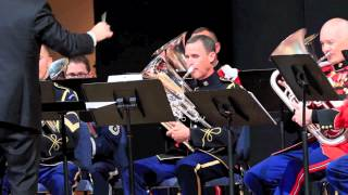 TEW 2012: The Interservice Euphonium Choir