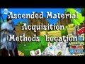 Guild Wars 2 - Ascended Materials (Acquisition, Locations, Methods)