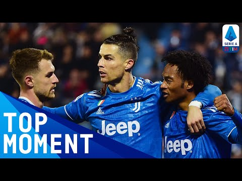 Ronaldo On Target During His Historic 1000th Game | SPAL 1-2 Juventus | Top Moment | Serie A TIM