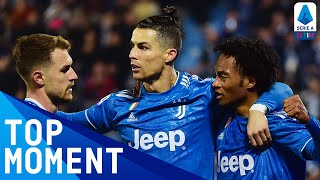 Ronaldo On Target During His Historic 1000th Game | Spal 1 2 Juventus | Top Moment | Serie A Tim