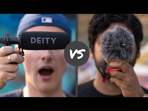 Best MICROPHONE For Outdoor Youtube Videos | DEITY D3-Pro Vs. RODE VideoMicro