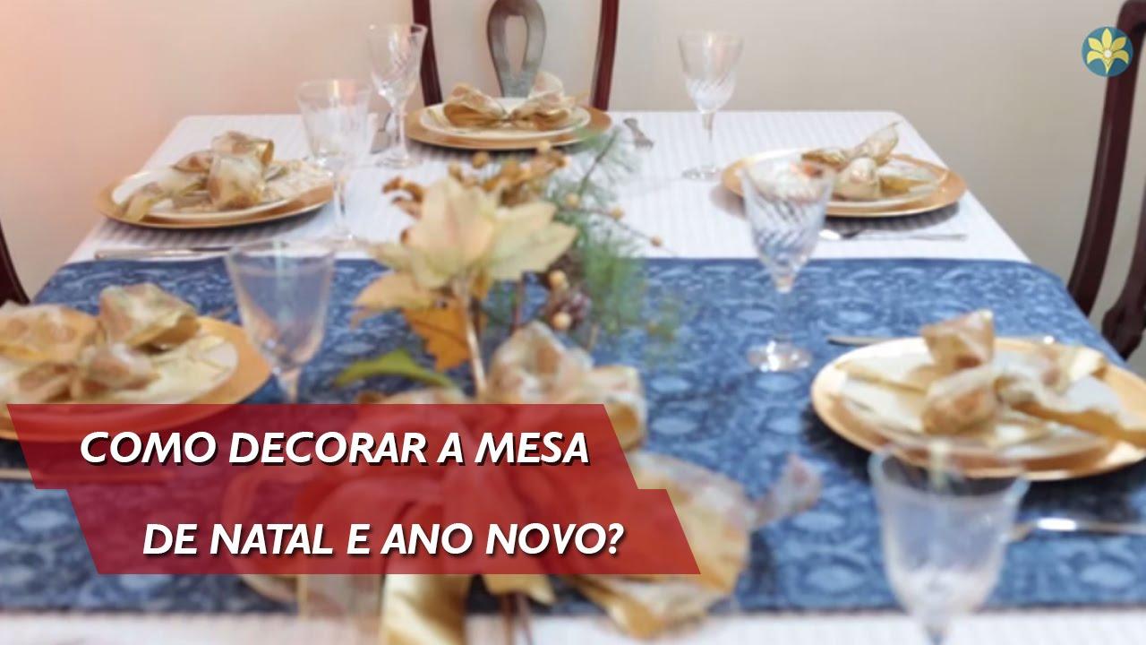 Bela Vida Como decorar a mesa de Natal e Ano Novo? (17 12 2014) YouTube -> Como Decorar Frutas Para Ano Novo