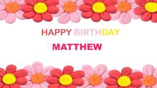 Matthew   Birthday Postcards & Postales - Happy Birthday