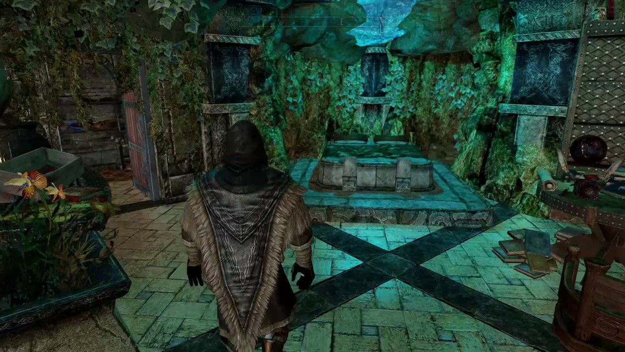 Best Skyrim House Mods 2020 Skyrim: Wizard's Grotto House Mod   YouTube