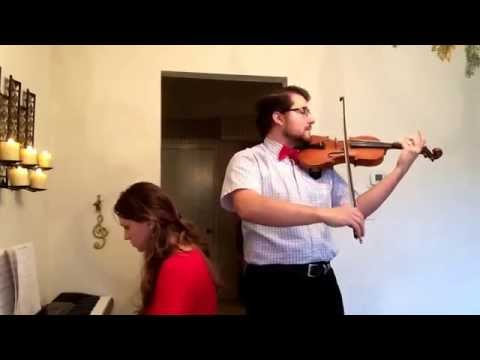 O Holy Night - Piano & Violin Duet - Practice Video