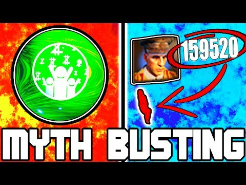 $100,000+ ON ROUND 1!!! | BLACK OPS 3 ZOMBIES CHRONICLES | MYTH BUSTING MONDAYS #93