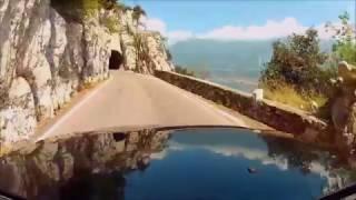 Italian best road on Garda Lake - Tremosine