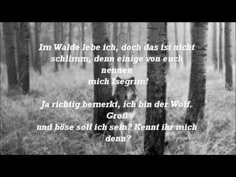 Mein Viertes Gedicht Des Wolfes Bitte Youtube