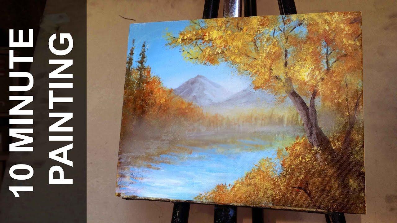 Autumn Oil Painting Tutorial