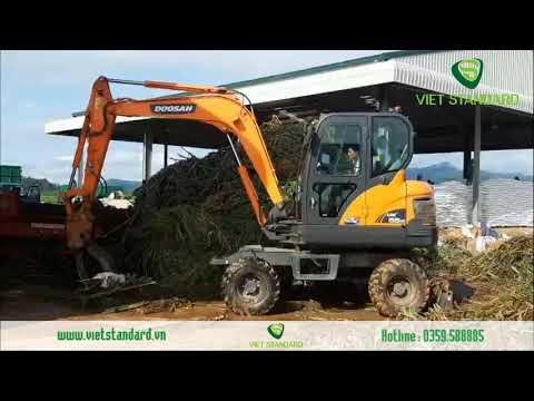 Xúc đào gắp cỏ trong trang trại bò, Dịch vụ sửa chữa
