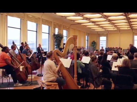 Sitzprobe for DIE FLEDERMAUS feat. Milwaukee Symphony Orchestra