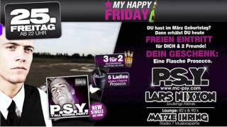 PSY feat. Lars Nixxon @ Cream-The Club /// Heidenheim /// Germany Thumbnail
