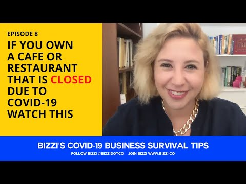 EP 8 - IF YOU OWN A CAFE OR RESTAURANT THAT IS CLOSED DUE TO COVID-19, WATCH THIS!