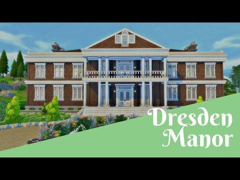 The Sims 4 House Build: Dresden Manor