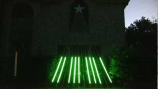 TSO Christmas Eve/Sarajevo 12/24 - SuperStar Christmas Light Display - Allen, TX