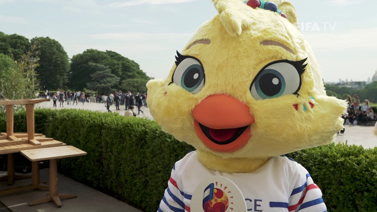 Behind the scenes at the Women's World Cup 2019™ Official Mascot Launch!