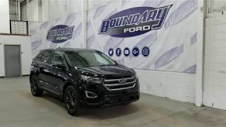2018 Ford Edge SEL 201A W/ 2.0L EcoBoost, Command Start Overview I Boundary Ford