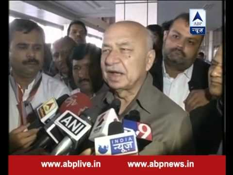 When BJP comes to power, terror attacks increase, claims Sushil Kumar Shinde