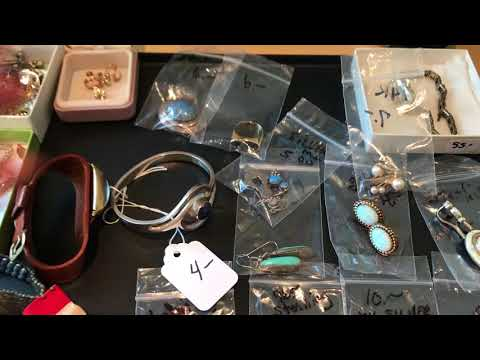 Estate Sale / Garage Sale Finds #18 Sterling Silver Native American Indian Jewelry