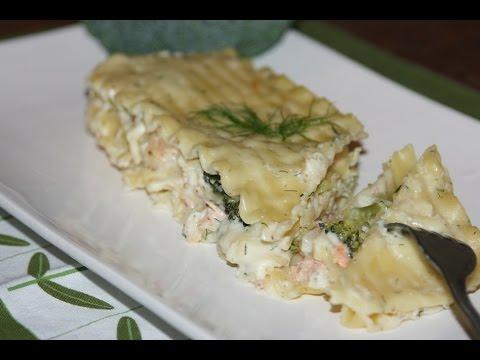 recette-lasagne-aux-fruits-de-mer-&-béchamel---seafood-lasagna-with-bechamel-sauce-recipe