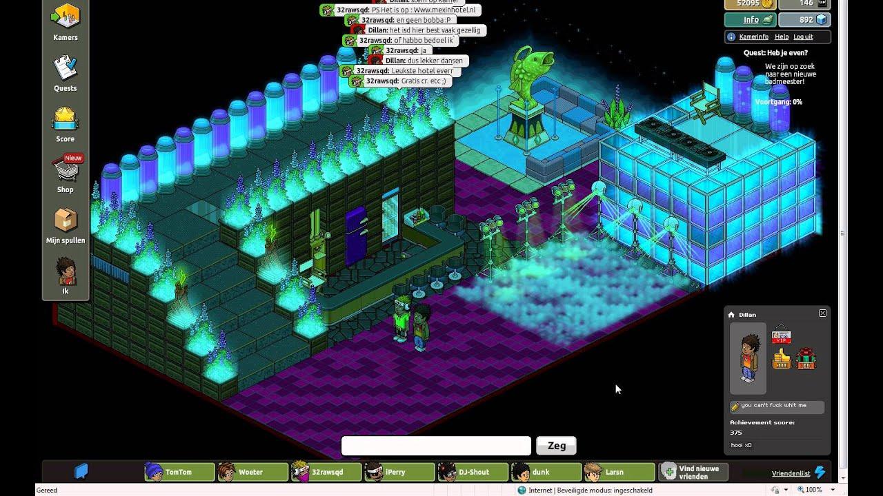 nightclub on mexinhotel - YouTube